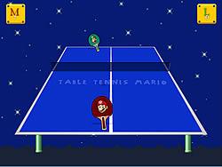 Table Tennis Mario game