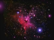 Watch free video Zoom on the Eagle Nebula