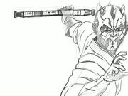 Watch free video Darth Maul - An iPad Pro Sketch
