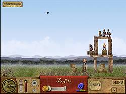 Da Vinci Cannon game