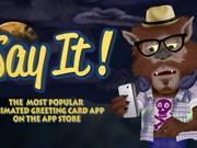 Watch free video Say It! App - Halloween Edition