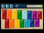 Mira dibujos animados gratis Toy Xylophone