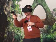 Virtual  Reality With HTC At MWC 2016.
