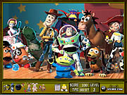 Toy Story 3 Hidden Objects game