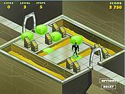 Green Lantern Space Escape game