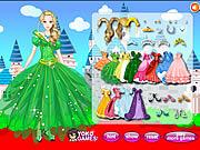 A Princess at Dineyland