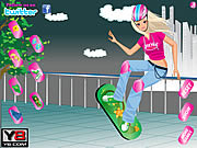Juega al juego gratis Crazy Skate Board Girl Dress Up