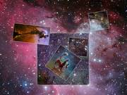 Watch free video Tour of Eagle Nebula