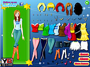 Juega al juego gratis Beautiful Country Girls Dress Up