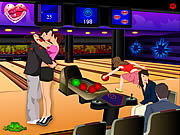 Bowling Kissing game