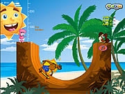 Juega al juego gratis Skater On The Beach