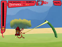 Mushu's Rocket Rush game