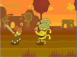 Sammy Samurai Runner game