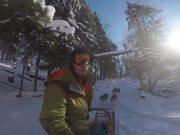 Extreme GoPro - Dog Sledding