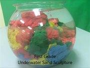 無料アニメのUnderwater Sand Sculptureを見る