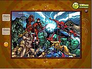 Spin n Set - Heroes game
