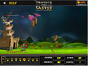 Juega al juego gratis Protect The Castle