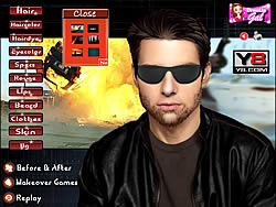 Tom Cruise Dress Up game