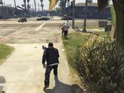 شاهد كارتون مجانا Grand Theft Auto V Killing Pedestrians