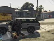 Watch free video Grand Theft Auto V Killing Pedestrians