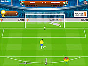 Juega al juego gratis World Cup Penalty 2010