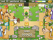 Looney Tunes - Looney Lunch game