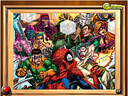 Juega al juego gratis Spiderman VS Villains Fix My Tiles