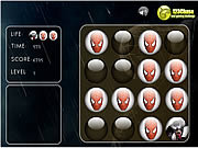 Memory Balls - Spiderman game