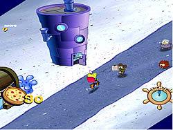 Sponge Bob Square Pants: Pizza Toss game