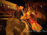 Watch free video Thailand traditional dance dewi on an elephant