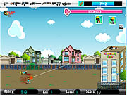 Juega al juego gratis Cute Zombie School Defense