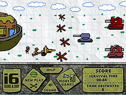 Ant Soldier game