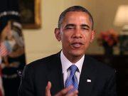 צפו בסרטון מצויר בחינם President Obama Praises Work of 100Kin10