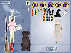 Hogwarts Avatar Creator game