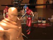 Watch free video Ninja Toy - A Motion Capture Tech Demo