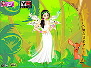 Forest Fairy Dress Up game