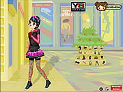 Emo Shopping Dress Up game
