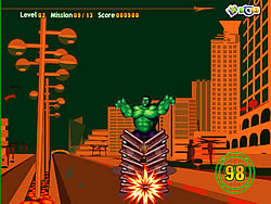 Hulk Power Game game