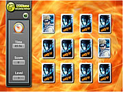 Naruto Memory Match game