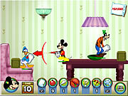 เล่นเกมฟรี Mickey And Friends in Pillow Fight