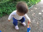 Watch free video Ruby Blows Bubbles
