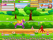 Pony Race game