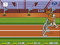 Scooby Doo Hurdle Race game