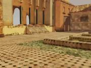 Watch free video Video Game Set: Arabic Courtyard