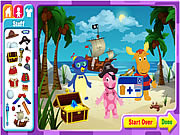 The Backyardigans Adventure Maker game