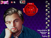 Leonardo Di Caprio Celebrity Makeover game