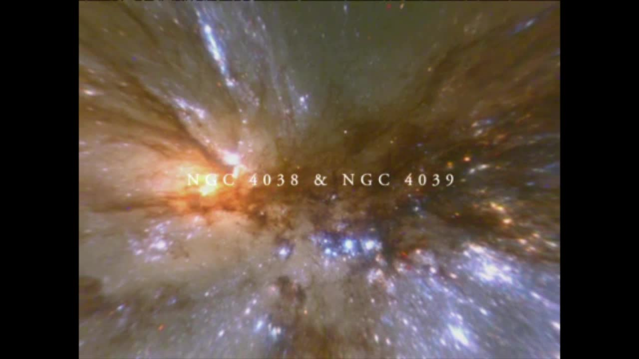 Watch free video The Antennae Galaxies