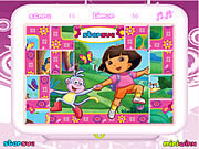 Juega al juego gratis Dora The Explorer Mix-Up