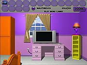Purple Room Escape لعبة