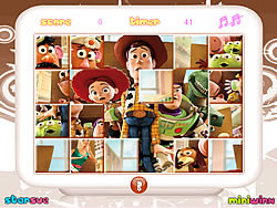 Toy Story Mix-Up game